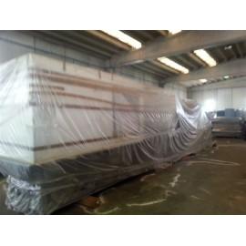 Macchina per stampaggio materie plastiche di costruzione  REAL  modello 500