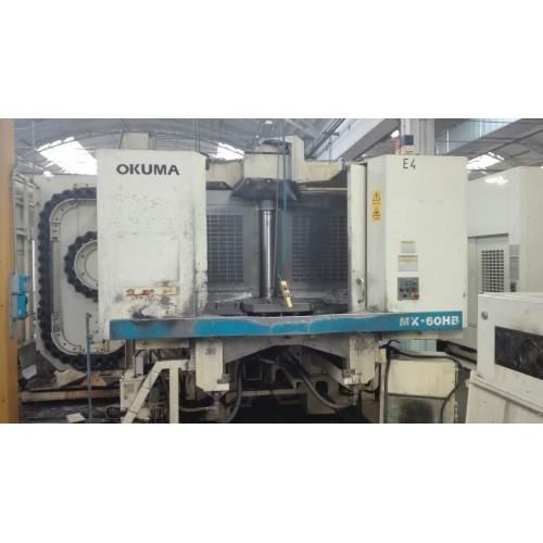 CENTRO DI LAVORO ORIZZONTALE OKUMA MX-60HB