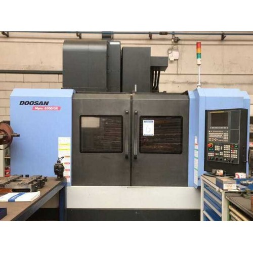 VERTICAL MACHINING CENTER DOOSAN MYNX 6500/50
