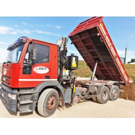 TRUCK WITH CRANE IVECO MAGIRUS CTG N3