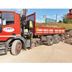 CAMION CON GRU IVECO MAGIRUS CTG N3