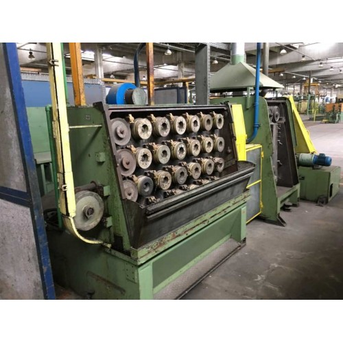 2 WIRE DRAWING MACHINES TECHNOFIL DE ANGELI T15/25 (4 AVAILABLE)
