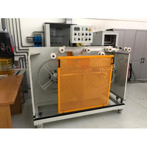 REWINDER MACHINE FOR CORRUGATED TUBES