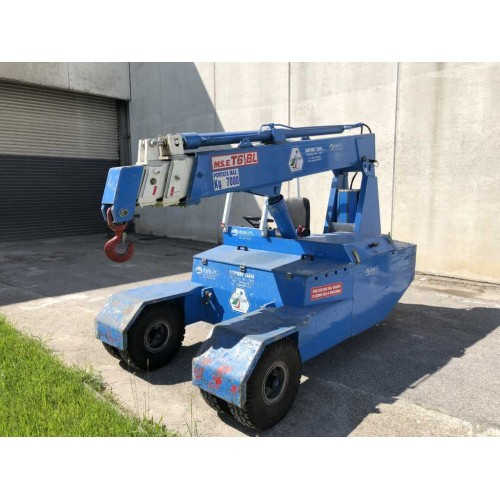 ELECTRIC SELF-PROPELLED CRANE AIRPORT2000 - 7 TON