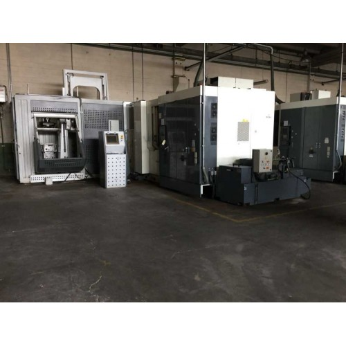 HORIZONTAL MACHINING CENTER KITAMURA HX500I (2 IN STOCK)